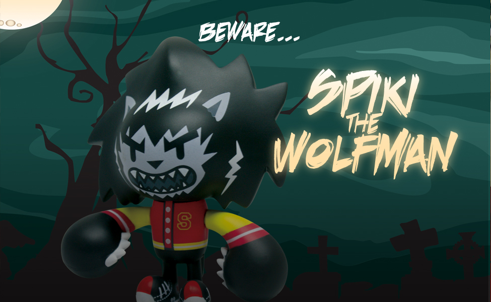 2 Spiki the Wolfman!! Spiki Chiisai figures now available