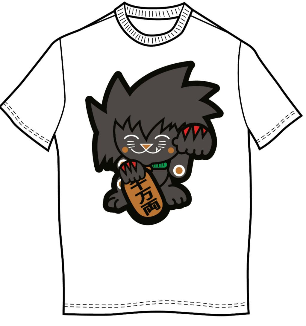 luckycat-shirt-front
